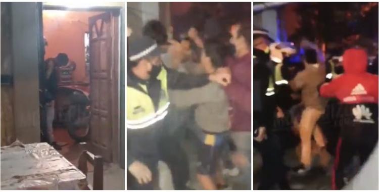 VIDEO Concepción: policías impidieron que un conocido delincuente fuera linchado   El Diario 24