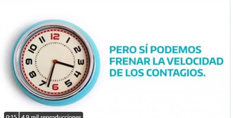 El crudo spot del gobierno bonaerense sobre la pandemia: Cada 3 segundos una persona se contagia de Covid   El Diario 24
