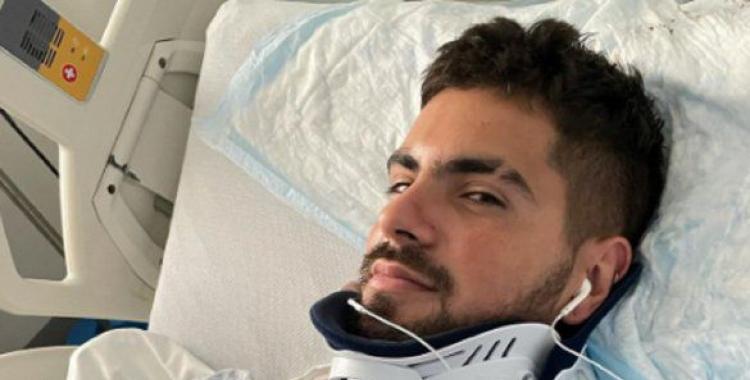 El cantante de Rombai sufrió un gravísimo accidente en Miami y se salvó de milagro   El Diario 24