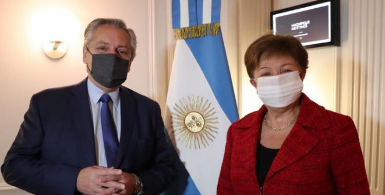El balance de Alberto Fernández luego de la reunión con la titular del FMI, Kristalina Georgieva | El Diario 24
