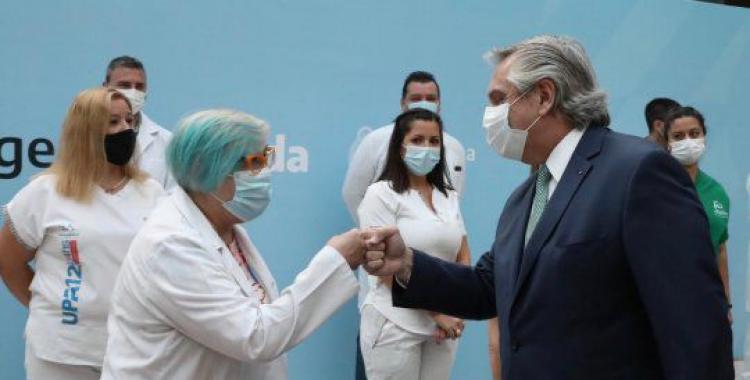 Ya es oficial: Mirá de cuánto será el bono para el personal de Salud que anunció el Gobierno   El Diario 24