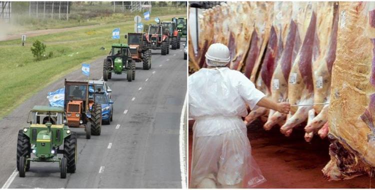Oficializan la suspensión de exportación de carne y el campo arrancó el paro   El Diario 24