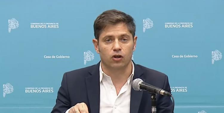 Kicillof celebró la autocrítica del macrismo al aceptar la suspensión de las clases presenciales | El Diario 24