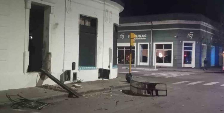 VIDEO Atentaron con explosivos contra una sede del Frente de Todos   El Diario 24