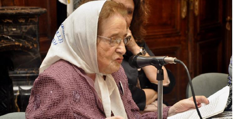Falleció la Abuela de Plaza de Mayo Ayub de Quesada, sin conocer a su nieto o nieta | El Diario 24