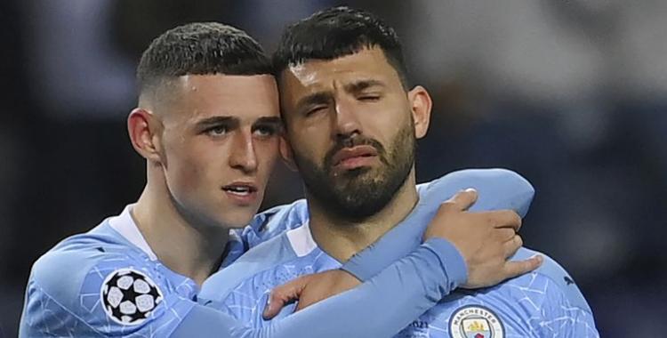 El último adiós del Kun Agüero al Manchester City tras la dura caída en la final de la Champions   El Diario 24
