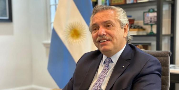 El mensaje de Alberto Fernández a Colón de Santa Fe por la consagración   El Diario 24
