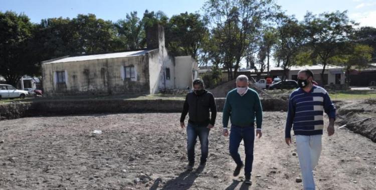 Noguera supervisó el avance de obras en dos barrios de Tafí Viejo   El Diario 24