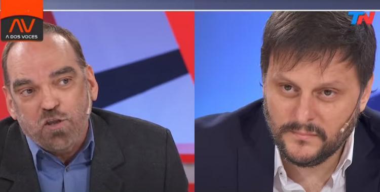VIDEO Feroz cruce en vivo entre Fernando Iglesias y Leandro Santoro | El Diario 24
