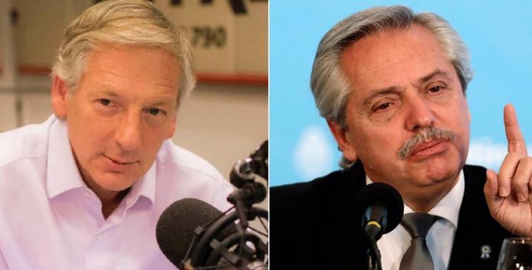 Dura ironía de Longobardi contra Alberto Fernández por su desafortunada frase | El Diario 24