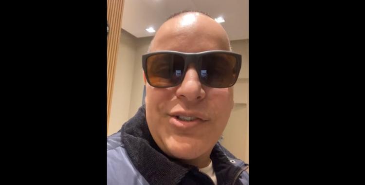 VIDEO Ceferino Décima se burlaba de que nadie lo fue a escrachar y fue increpado por una docente | El Diario 24