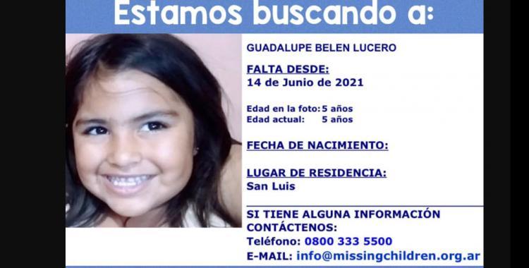 Búsqueda de Guadalupe Lucero: Activaron el Alerta Sofía para encontrar a la nena de 5 años   El Diario 24