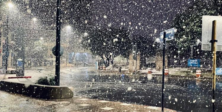 VIDEOS San Juan, San Luis, La Rioja y Córdoba bajo la nieve | El Diario 24