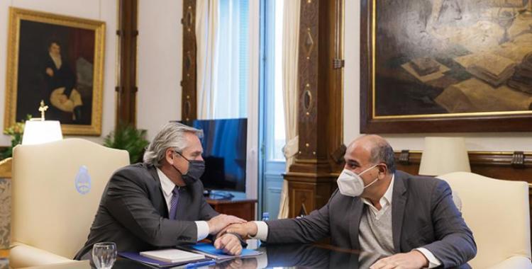 Alberto Fernández y Juan Manzur mantuvieron una reunión: los temas que trataron | El Diario 24