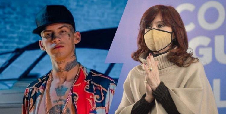 Qué dijo el cantante L-Gante tras ser nombrado por Cristina Kirchner   El Diario 24
