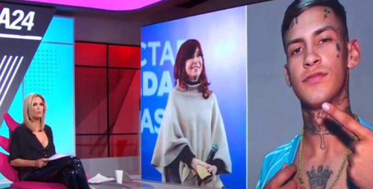 VIDEO En una entrevista con Viviana Canosa, L-Gante desmintió a Cristina Kirchner   El Diario 24