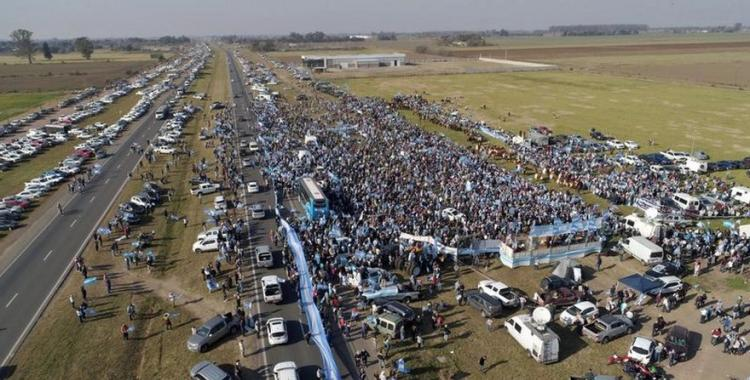 El Gobierno criticó la protesta del campo | El Diario 24
