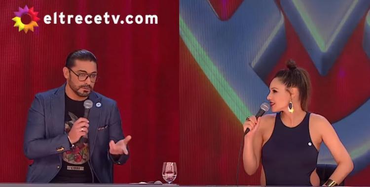 VIDEO Tenso cruce entre Hernán Piquín y Pampita en vivo | El Diario 24