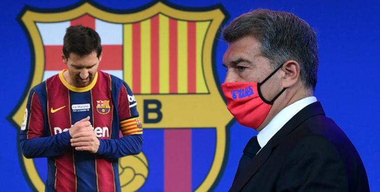 El Barcelona remata jugadores para poder reincorporar como jugador a Lionel Messi   El Diario 24