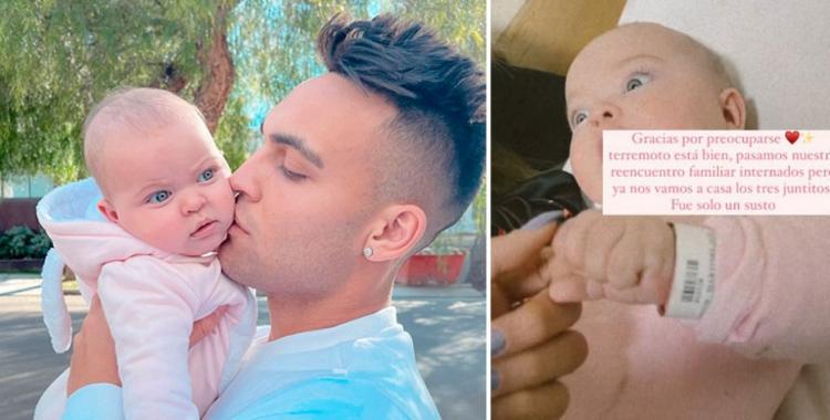 El susto de Lautaro Martínez por la internación de su hija  de apenas cinco meses   El Diario 24