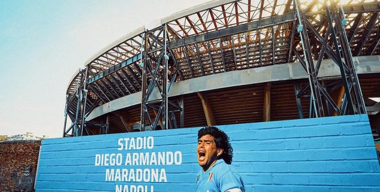 Argentina vs Italia podría jugarse en el estadio del Nápoli como homenaje a Diego Maradona | El Diario 24