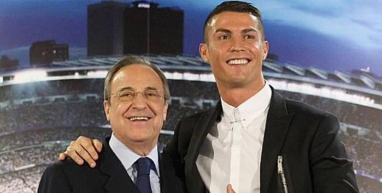 VIDEO Escándalo por los dichos de Florentino Pérez donde trata de imbécil a Cristiano Ronaldo | El Diario 24