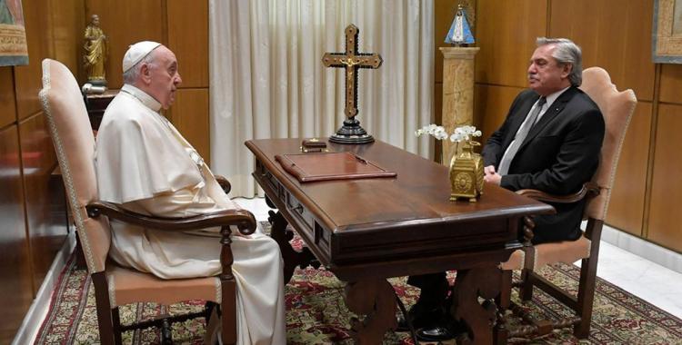 El Papa Francisco le envió una carta a Alberto Fernández: ¿Qué dice? | El Diario 24