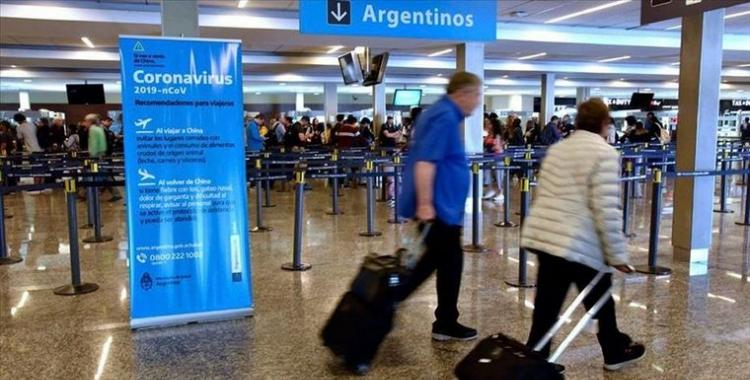 Un tribunal avaló el cupo de pasajeros que pueden regresar a diario a Argentina   El Diario 24