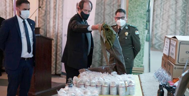 Bolivia dio detalles sobre el armamento enviado por el Gobierno de Macri   El Diario 24