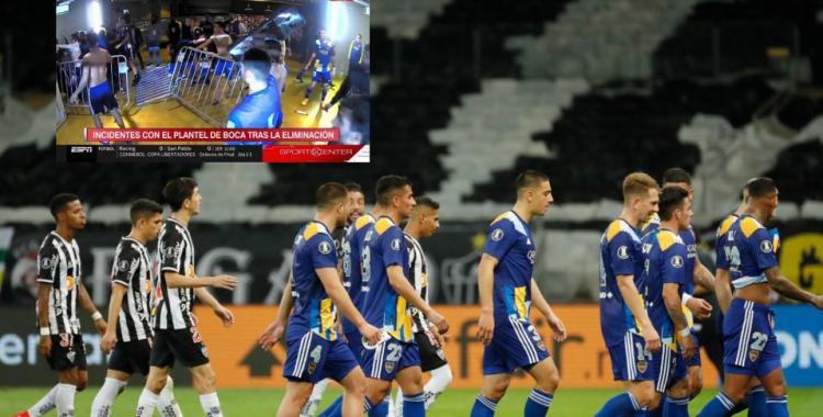 Lapidario comunicado oficial de Boca Juniors por el escándalo contra Atlético Mineiro   El Diario 24