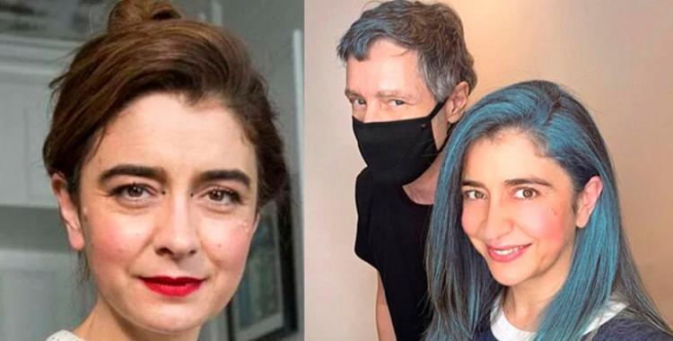 Érica Rivas se animó a un cambio radical y tiñó su pelo de azul   El Diario 24