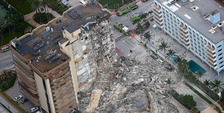 Indemnizarán con 150 millones de dólares a las víctimas del derrumbe en Miami | El Diario 24