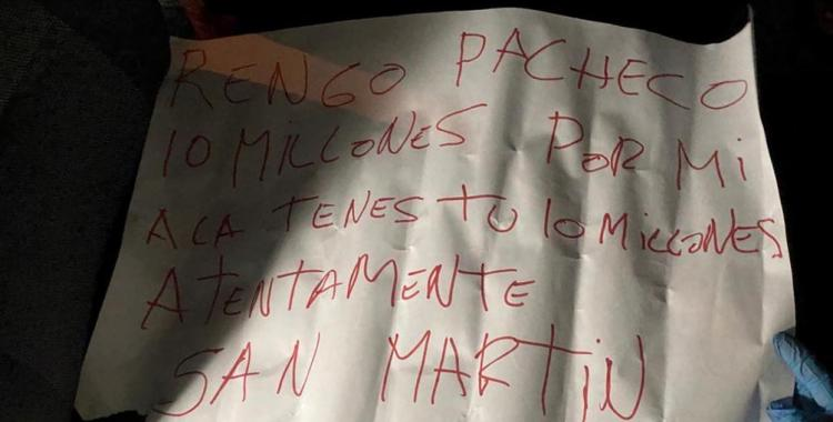 Dejaron un mensaje mafioso junto al cadáver de un policía tras asesinarlo de varios disparos   El Diario 24