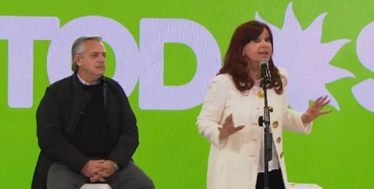Cristina Kirchner: En casi cuatro años, casi nos llevan al tacho a todos   El Diario 24