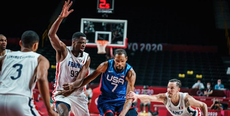 Francia dio el batacazo en Tokio y venció en el debut al Dream Team de Estados Unidos | El Diario 24