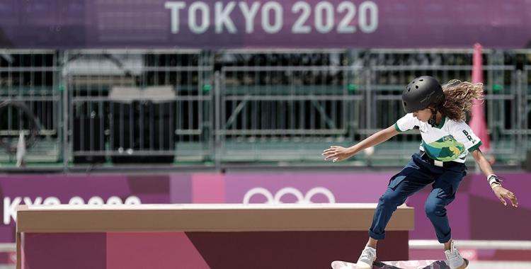 La historia de la niña de sólo 13 años que le dio una medalla de plata a Brasil en skate | El Diario 24
