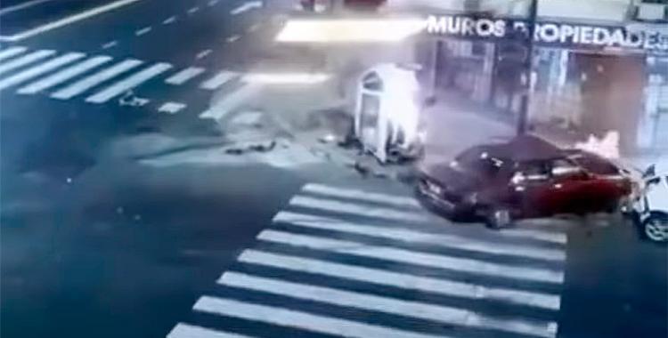 VIDEO Choque fatal entre dos automóviles terminó con una mujer muerta y el otro conductor se fugó   El Diario 24