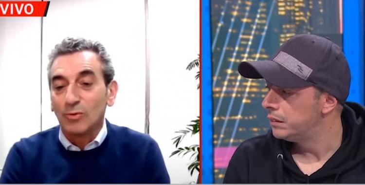 VIDEO El Dipy y una pregunta incómoda para Randazzo en vivo | El Diario 24