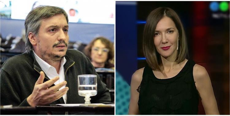 Feroz editorial de Cristina Pérez contra Máximo Kirchner   El Diario 24