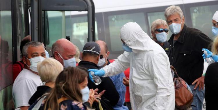 Coronavirus en el país: reportan 194 muertes y 5.328 contagios en las últimas 24 horas   El Diario 24