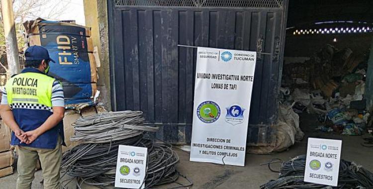 Zona Norte: secuestran 1.700 kilos de cable robados de la red pública de energía | El Diario 24