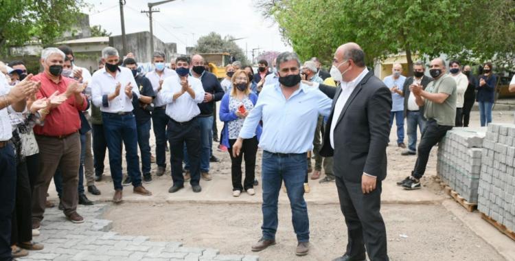 San Andrés: avanzan obras de pavimento | El Diario 24