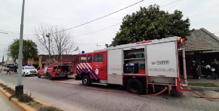 Un incendio en la Brigada Femenina de Concepción, dejó al menos cuatro muertos | El Diario 24