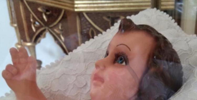 Aseguran que la imagen del Niño Jesús llora en la Catedral de Cafayate   El Diario 24