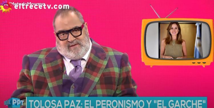 VIDEO Lanata se burló de Victoria Tolosa Paz por su polémica frase   El Diario 24