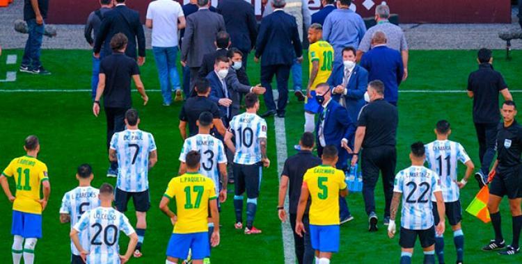 Después del escándalo por la suspensión de Brasil vs Argentina, la Fifa analiza las sanciones | El Diario 24