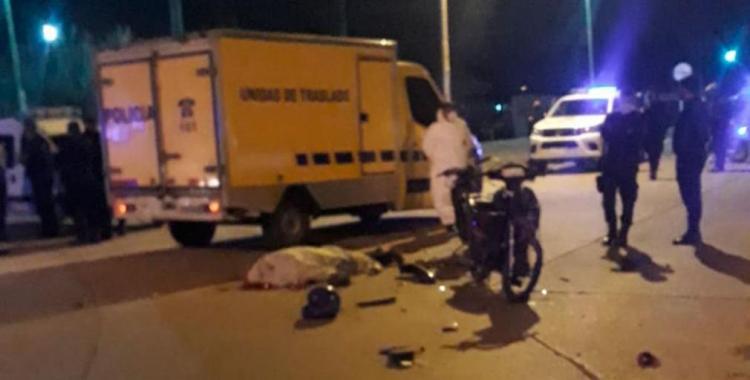 Un policía murió al derrapar mientras perseguía a un delincuente que intentó arrebatarle su bolso | El Diario 24