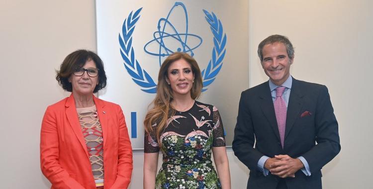 Reunión bilateral entre la Dra. Claudia Ledesma de Zamora y Rafael Grossi   El Diario 24