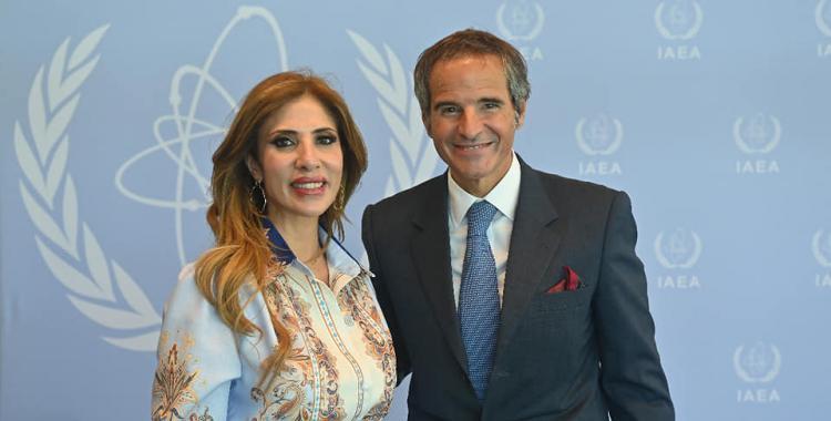 La Dra. Claudia Ledesma de Zamora acompañó al director de la OIEA, en Austria | El Diario 24