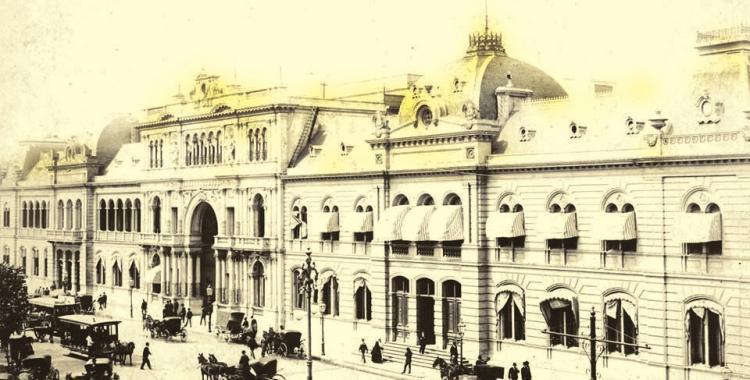 Postal de cuando Buenos Aires era la Capital Federal de los argentinos | El Diario 24